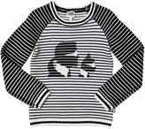 Karl Lagerfeld Tricot Cotton & Wool Blend Sweater