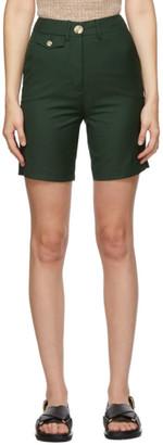 ANNA QUAN Green Patsy Shorts