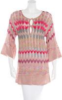 M Missoni Patterned Knit Tunic