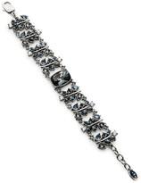 St. John Swarovski Crystal Garden Link Bracelet