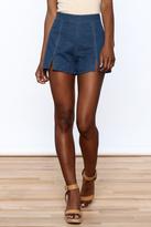 Bio Denim High Waist Shorts