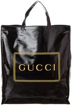 Gucci Logo Print Medium Tote