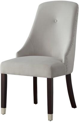 INSPIRED HOME Set Of 2 Kian Velvet Dining Chair