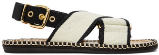 Marni Off-White Fussbett Sandals