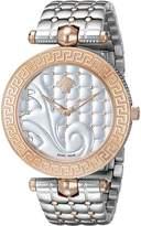 Versace Women's Vanitas VK723 0015 Stainless Steel/Rose Gold Watch