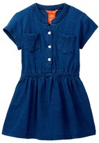 Joe Fresh Indigo Dress (Toddler & Little Girls)