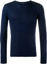 Lot 78 Lot78 - ribbed sweater - men - Silk/Viscose/Cashmere - M