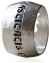 "Vrsilberter Ring ""Castitatis Cingulum"""