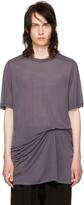 Rick Owens Purple Level T-shirt