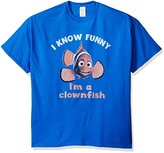 Disney Men's Finding Nemo Funny How T-Shirt