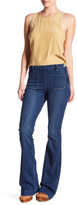 Frame Le High Patch Pocket Flared Jean