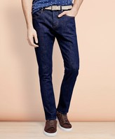 Brooks Brothers 116 Slim Stretch Jeans in Indigo Denim
