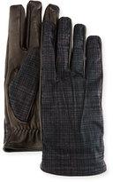 Etro Tessuto/Napa Leather Gloves
