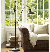 Pottery Barn Glendale Pulley Task Floor Lamp