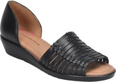 Comfortiva Leather Huarache Sandals - Fayann
