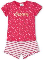 Sprout NEW Girls Pajama Set Raspberry