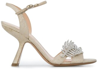 Nicholas Kirkwood MONSTERA sandals 90mm