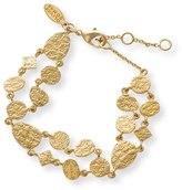 Oliver Bonas Ariel Multi Shape Textured Bracelet