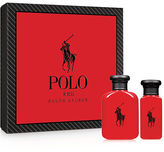 Polo Ralph Lauren Red Polo Red 2-Piece Set