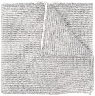 Brunello Cucinelli Ribbed Knit Scarf
