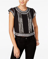 GUESS Shea Embellished Top