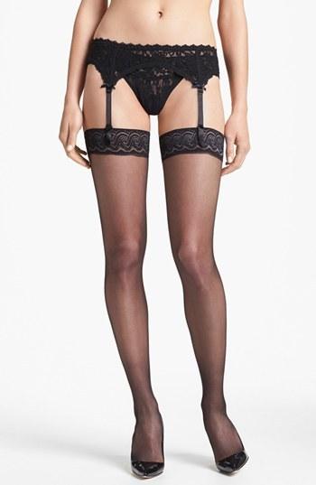 Pretty Polly 10 Denier Gloss Thigh High Stockings