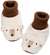 First Impressions Bear Slippers, Baby Boys (0-24 months), Created for Macy's