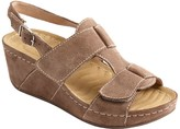 David Tate Wave Tech Footbed Casual Sandals - Reba