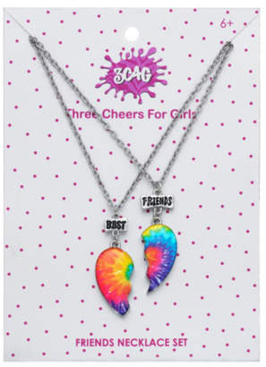 Girls' Best Friends 3 Cheers 4 Girls Best Friends Tie Dye Necklaces