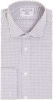 T.M.Lewin Men's Check Fully Fitted Long Sleeve Formal Shirt