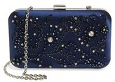 Menbur Crystal Box Clutch - Blue