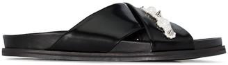 Simone Rocha Pearl-Embellished Sandals
