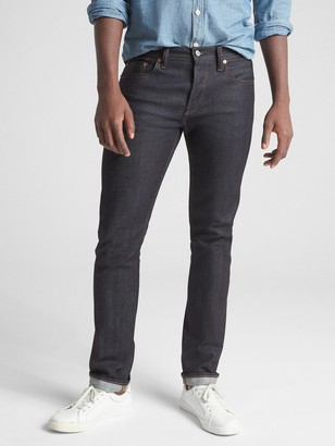 Gap Selvedge Skinny Jeans with GapFlex