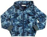 Stella McCartney Nylon & Faux Terrycloth Padded Jacket