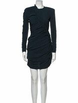 Thumbnail for your product : CARMEN MARCH Crew Neck Mini Dress Green