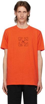 Off-White Orange Workers T-Shirt