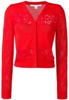 Diane von Furstenberg button up cardigan - women - Cotton/Polyamide/Viscose/Merino - S