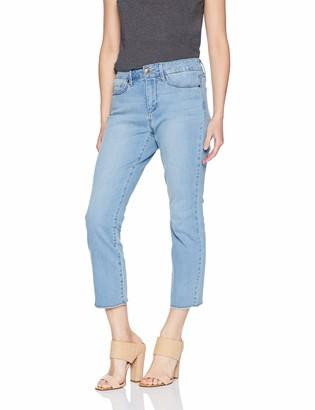 NYDJ Women's Petite Size Sheri Slim Ankle with Fray Hem