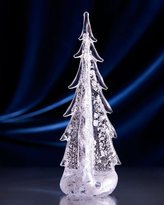 "Simon Pearce Sterling Silver-Leaf Evergreen 12"" Tree"