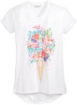 GUESS Sequin-Front T-Shirt, Big Girls (7-16)