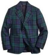Brooks Brothers Boys' Blackwatch Plaid Wool Jacket - Little Kid, Big Kid