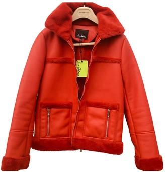 Sam Edelman \N Red Faux fur Coat for Women