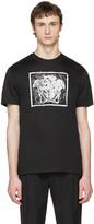 Versace Black 'Medusa in Square' T-Shirt
