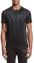 Versace Men's Flocked Baroque T-Shirt