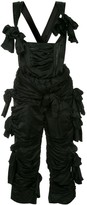 Comme des Garcons Pre Owned ruffle bow embellished jumpsuit