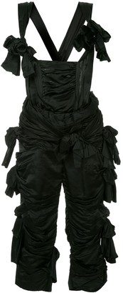 Comme Des Garçons Pre-Owned Ruffle Bow Embellished Jumpsuit