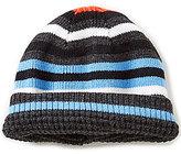 Class Club Boys Striped Reversible Hat