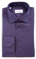 Eton Men's Contemporary Fit Dot Print Shirt