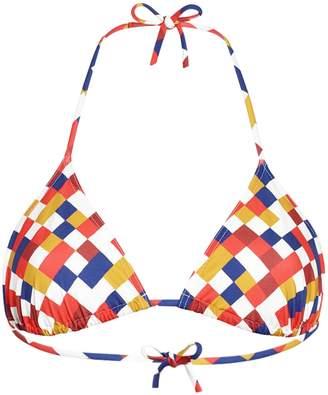 Eres mosaic triangle bikini top