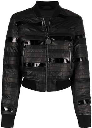 Diesel Panelled Fitted Bomber Jacket